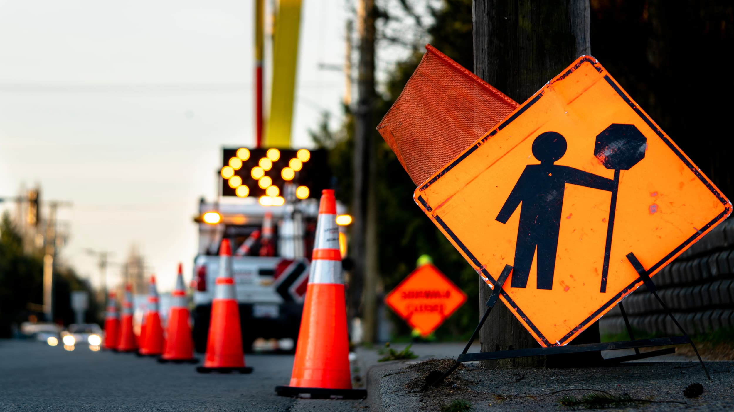 Compliance Training Online Construction Roadway Temporary Traffic Control course